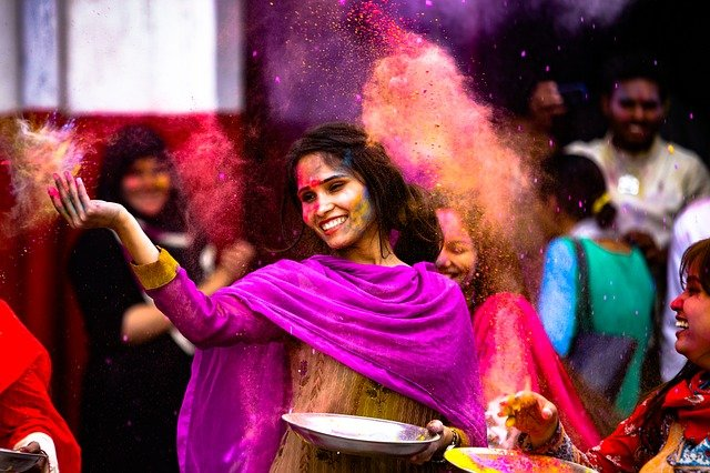 Why does everybody sleep after playing Holi?